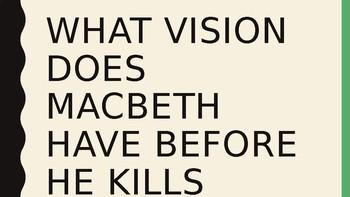 Macbeth Trivia