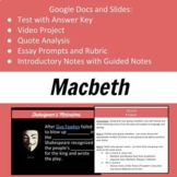 Macbeth Unit Activities