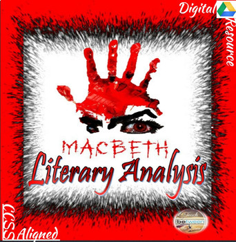 Macbeth Unit Bundle-Lessons, Assessments, Interactive Notebook, and more!