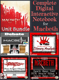 Macbeth Unit Bundle - Digital Unit Bundle for Distance Learning