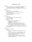Macbeth Unit Lesson Plans