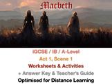 Macbeth: Witches and the Elizabethan Era