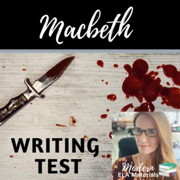 Macbeth Writing Test