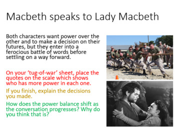 Macbeth and Lady Macbeth - Act 1 Scene 7