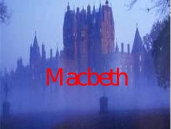 Macbeth background, powerpoint