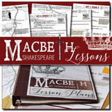 Macbeth Unit Plan: 4 Weeks of Daily lessons