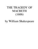 Macbeth - complete play