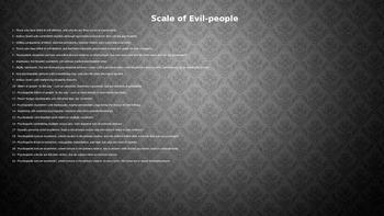 Macbeth introduction: Ideas about evil
