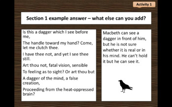 Macbeth Soliloquy Act 2 Scene 1 I Thi A Dagger See Before Me Paraphrase