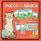 Macca the Alpaca - literacy fun!