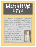 Mach It Up! Multiplication 7s
