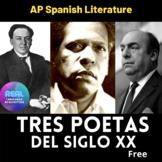 Machado, Guillén and Neruda