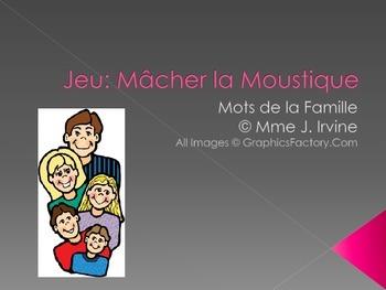 Macher la Moustique Family Vocabulary Game