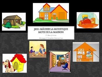Macher la Moustique Rooms in the House Game