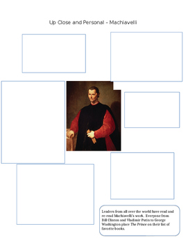 Machiavelli's The Prince Worksheet