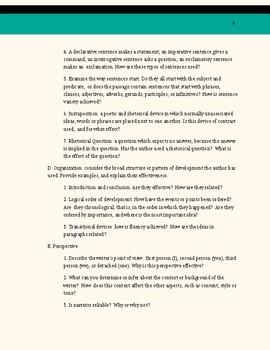 Machiavelli has Style- Non Fiction Text Analysis