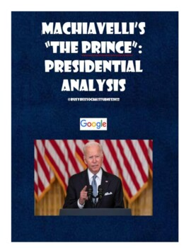 Machiavelli's The Prince and the Trump Presidency (Common Core)