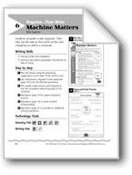 Machine Matters (Similes/Metaphors/Descriptive Paragraphs)