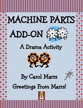 Drama Game-Machine Parts Add-On