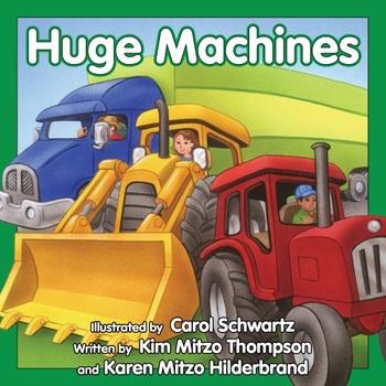 Huge Machines Read-Along eBook & Audio Track