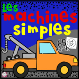 Machines Simples • Digital Task Cards in FRENCH