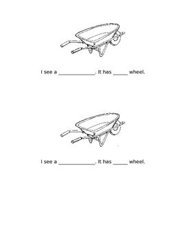 Machines With Wheels Mini Book