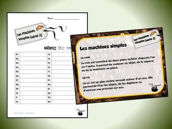 Machines simples, série 2 (cartes à tâches) (Sciences)
