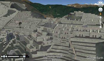 Machu Picchu with Google Earth Tours