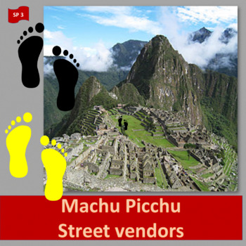 Machu Picchu (1), Street vendors (2),  thematic units - SP Inter. 1