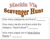 Mackin Via Scavenger Hunt
