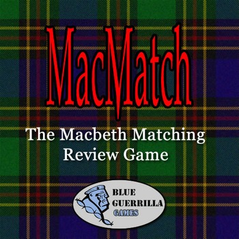 Macmatch: The Macbeth Video Game