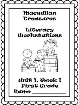 Macmillan 1st Grade Treasures- Literacy Workstations