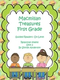 Macmillan First Grade- Guided Readers Response Sheets (Unit 2)