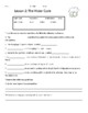 Macmillan/McGraw-Hill 3rd Grade Science Weather Water Cycle Quiz and Worksheet