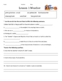 Macmillan/McGraw-Hill 3rd Grade Science Weather Water Cycl