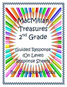Macmillan Second Grade- Guided Readers Response Sheets (Unit 3)