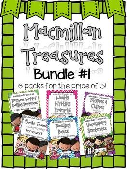 Macmillan Treasures: Bundle #1