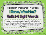 Macmillan Treasures I have, Who Has Sight Word Game