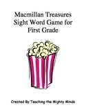 Macmillan Treasures Popcorn Sight Word Game for First Grade