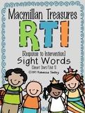 Macmillan Treasures: RTI Sight Words #1