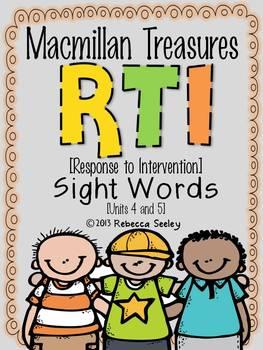 Macmillan Treasures: RTI Sight Words #3
