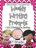 Macmillan Treasures Weekly Writing Prompts 1st grade