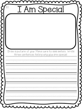 Macmillan Treasures Weekly Writing Prompts 1st grade