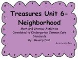 Macmillan/McGraw-Hill Treasures Neighborhood Math and Lite