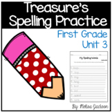 Macmillan/McGraw-Hill Treasures Unit 3 Spelling Practice First Grade