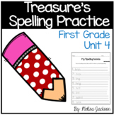 Macmillan/McGraw-Hill Treasures Unit 4 Spelling Practice First Grade