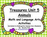 Macmillan/McGraw-Hill Treasures Unit 5 Animals Math and Li