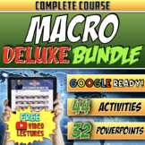 Macroeconomics Course Deluxe Bundle