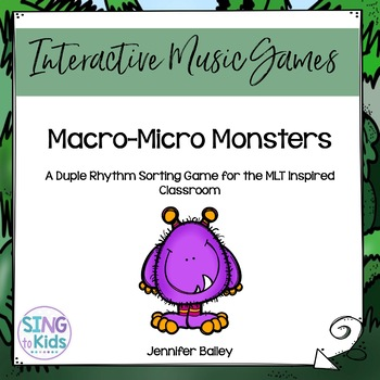 Macro-Micro Monsters: A Rhythm Sorting Game
