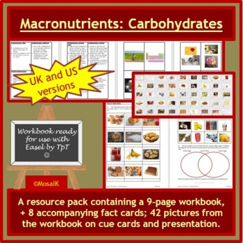 Cooking: Macro Nutrients Carbohydrates